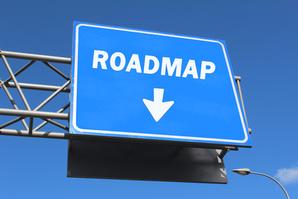 Highway sign - Roadmap